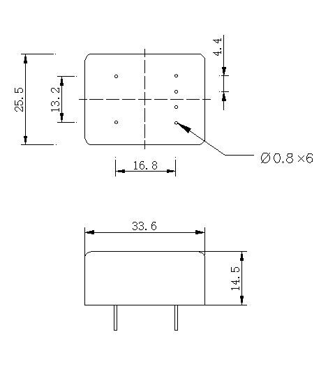 插座式固态继电器,即可焊接在电路板上